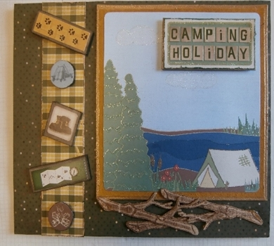 >The Great Outdoors Album Book (Pattern & Tutorial)