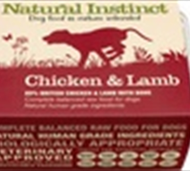 >Natural Chicken & Lamb - 2 x 500g