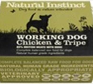 >Working Dog Chicken & Tripe - 1kg