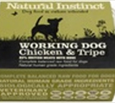 >Working Dog Chicken & Tripe - 2 x 500g