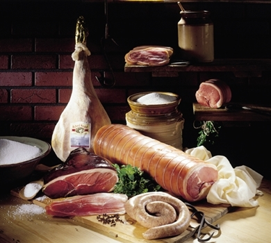 >Cumberland Ham (whole, uncooked, boned & rolled)