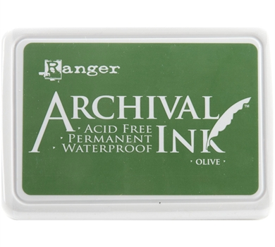 >Archival Ink Pad - Olive