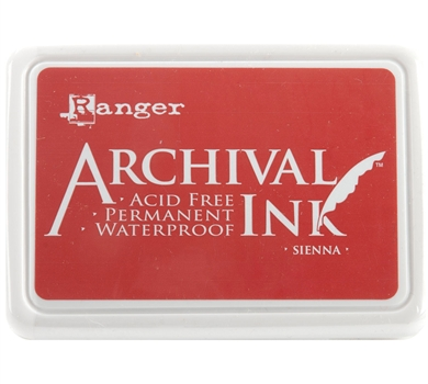 >Archival Ink Pad - Sienna