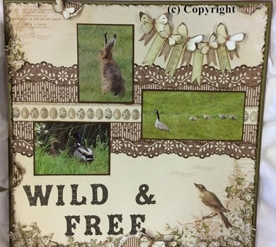 >Wild and Free (Pattern & Tutorial)