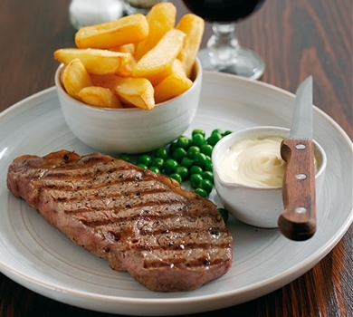 >Beef - Sirloin Steak (10oz)