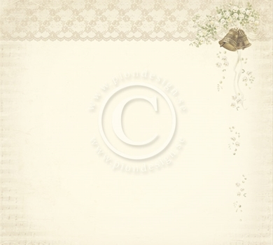 >Vintage Wedding - Wedding bells 12x12
