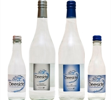 >Deeside Carbonated Natural Mineral Water (250ml)