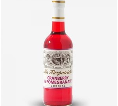 >Mr Fitzpatrick's Cranberry & Pomegranate Cordial