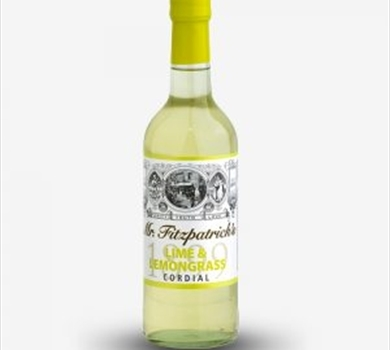 >Mr Fitzpatrick's Lime & Lemongrass Cordial
