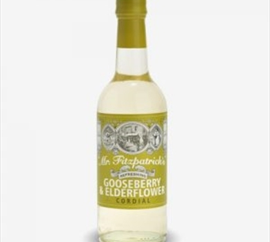 >Mr Fitzpatrick's Gooseberry & Elderflower Cordial