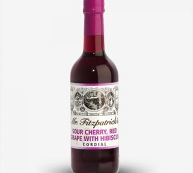 >Mr Fitzpatrick's Sour Cherry & Grape with Hibiscus Cordial