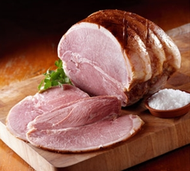 >Cumberland Ham (whole, cooked, boned & rolled)