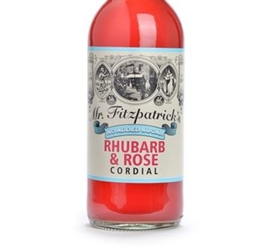 >Mr Fitzpatrick's Rhubarb & Rose Cordial (No added sugar)