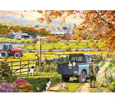 >Countryside Morning  - 1000 piece