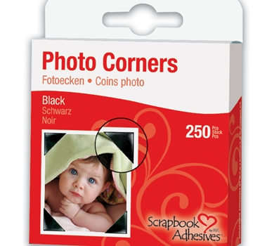 >Photo Corners Self-Adhesive .357